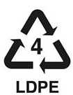 Green Recycling arrows in a triangle
